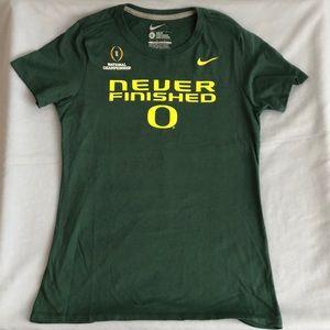 Nike Swoosh National Championship Oregon Ducks